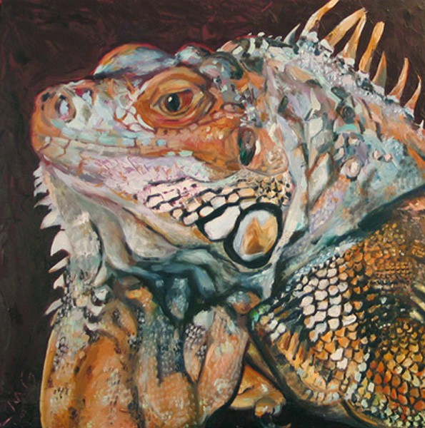 lisa-goldfarb-zard-lizard-pet-portrait-painting