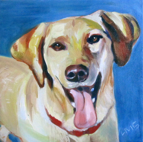 Oil portrait of Roscoe