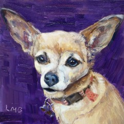 Chihuahua painting: Clementine