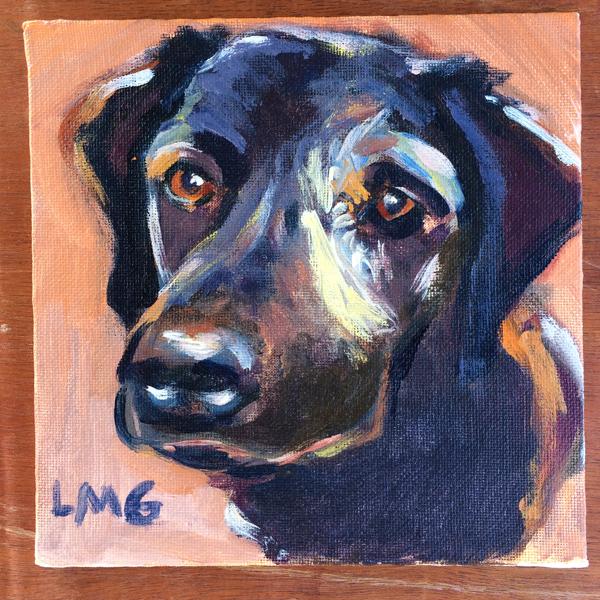 dog painting 2
