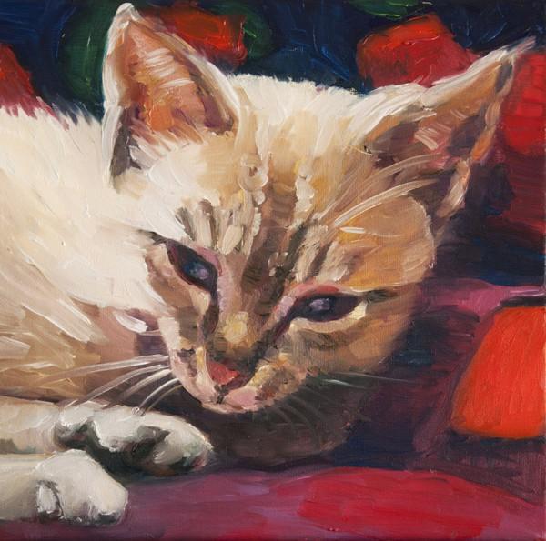 Lisa-Goldfarb-Lubi-cat-pet-portrait-painting
