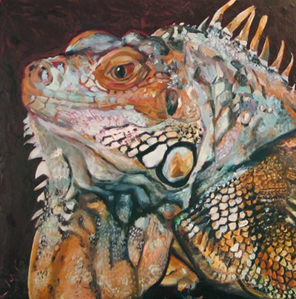 lisa-goldfarb-zard-lizard-pet-portrait-painting