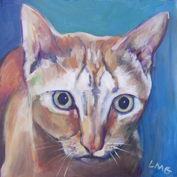 custom cat painting